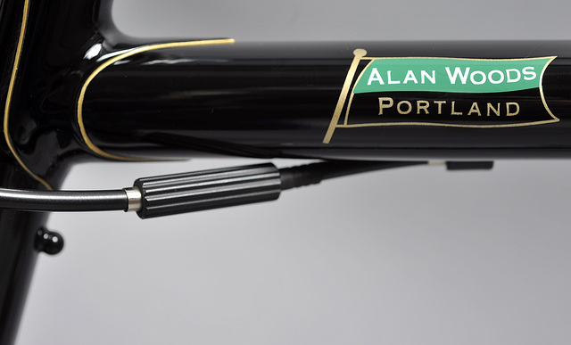 Top tube owner's name. In line cable adjuster (2013)