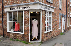 I have enough Frocks but some new Frippery would be nice !!