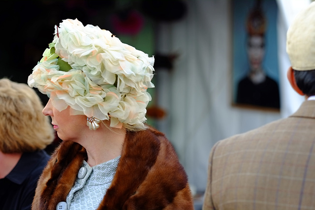 Goodwood Revival Sept 2015 The Hat 1 XPro1