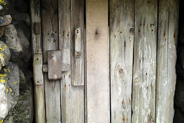 Faroe Islands, Sandoy, Doors