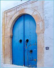 Hammamet : Médina , una porta nella porta !!