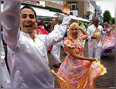 dancing in the streets of Schagen