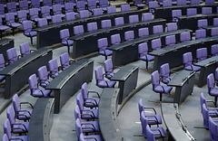 Reichstags-Blue ™ und eine Bundestagsrede -  Reichstag-Blue and a Bundestag Speech