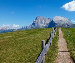 Dolomites fence