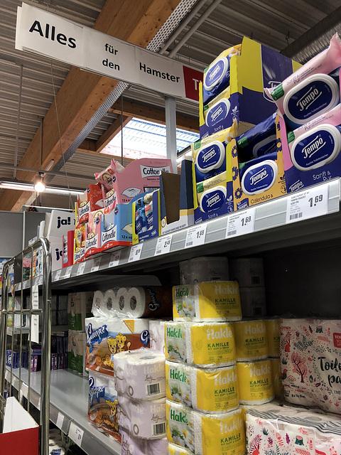 Heute im Supermarkt :-)))...nur nicht den Humor verlieren!