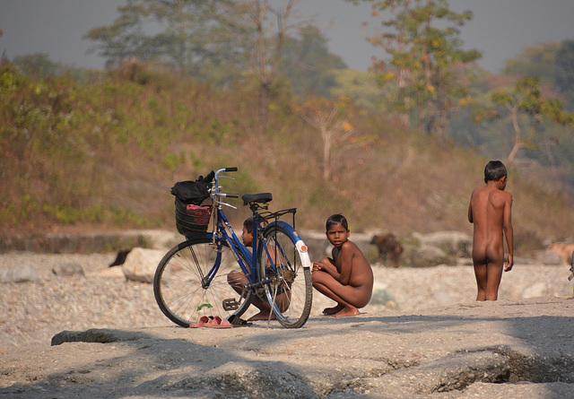 Diana River, West Bengal. India