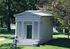 The Miner Mausoleum in Greenwood Cemetery, September 2010