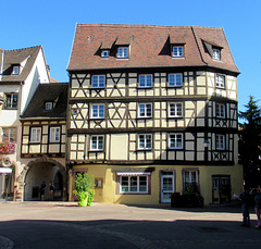 T like TIMBERED HOUSE in Colmar ALSACE