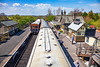 Embsay Steam Railway - roof view