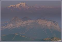 Au fond le Mont Blanc