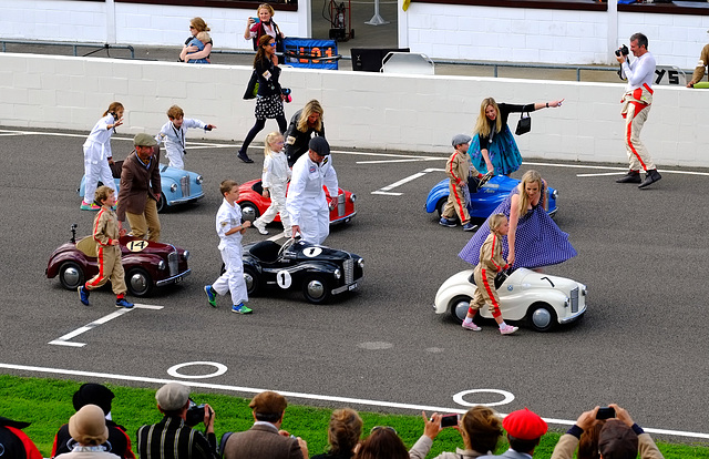 Goodwood Revival Sept 2015 Pedal Car Race 2 XPro1