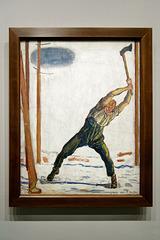 """""""Le bûcheron"""" (Ferdinand Hodler - 1910)"""