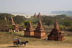 Scenery in Bagan, Myanmar