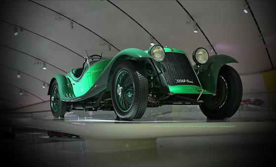 Maserati Tipo V4 Sport 16 cylinder Museum Modena Enzo Ferrari