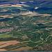 Survol du domaine d'Irancy (Yonne)