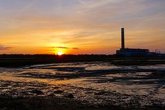 Fawley sunset