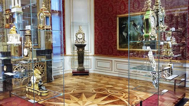 Ludwigslust, Schloss, Uhrensammlung von Herzog Friedrich