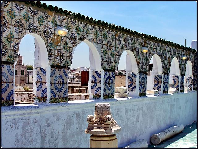 Tunisi : sui tetti della Medina