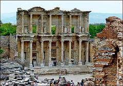 Ephesus - la biblioteca di Celso - (464)