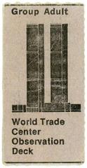 World Trade Center Observation Deck Ticket