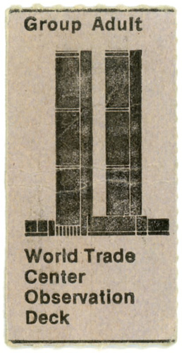 World Trade Center Observation Deck Ticket