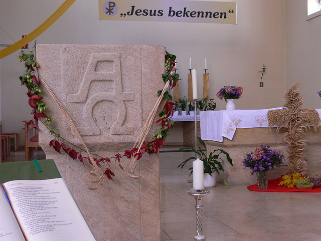 Jesus bekennen - Erntedank