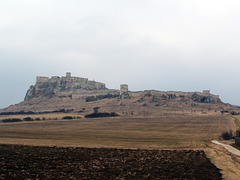 Spissky Hrad from West