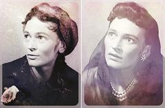 """Eva Seemannová kiel Eliza Doolittle en """"Pigmaliono"""" de G. B. Shaw"""