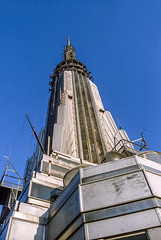 Empire State Building - the top - 1986