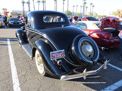 1935 Ford V8 De Luxe 3 Window Coupe