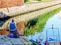 Pescando tra i riflessi