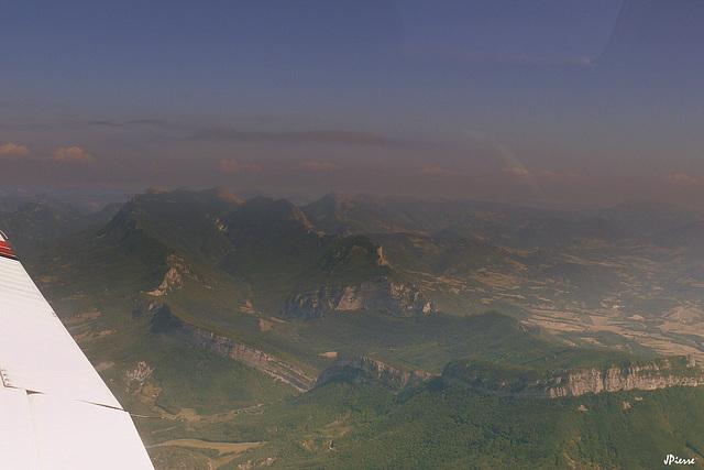 Survol du Vercors-Alpes