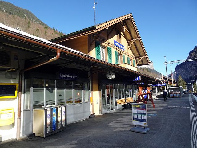 Bahnhof Lauterbrunnen