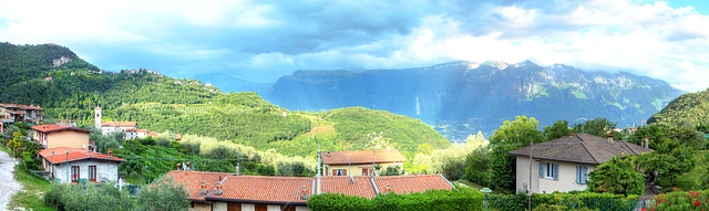 Panorama Tremosine Juni - Juli 2017.  ©UdoSm