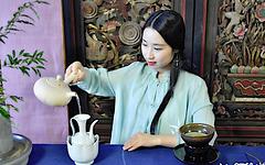 Préparatifs du Thé en Chine