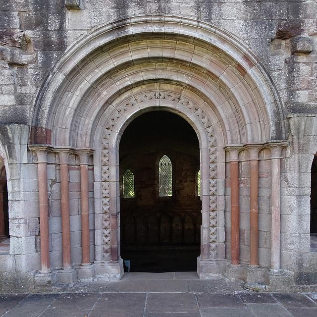 Dryburgh Abbey Archway