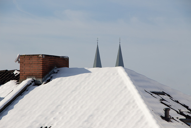 Winter in Bremen