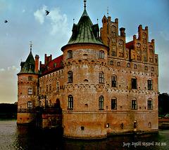 Twilight at Egeskov Castle
