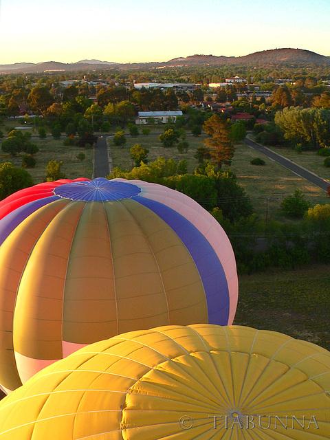 Ballooning upward