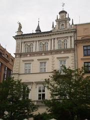 Ornate façade.