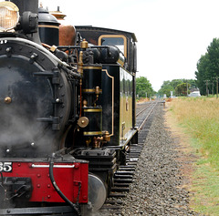 Locomotive and Track, Gisbourne, New Zealand
