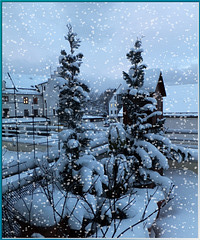 Früher Morgen im Winter... Early morning in winter... ©UdoSm