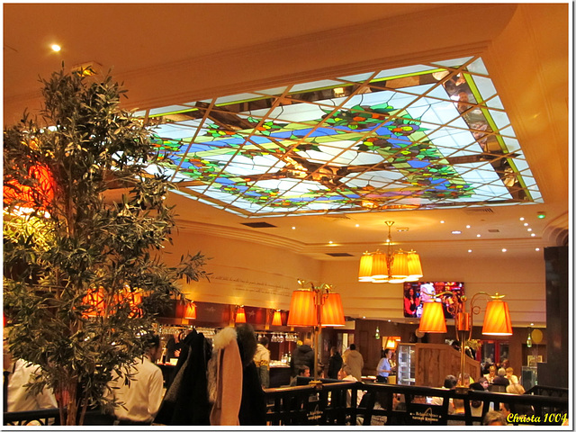 Glass window as a ceiling - something different!