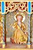 Kraak, Altar der Johanniterkirche, Heilige Frau mit Drachen