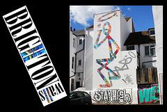 Stay high - Brighton windows - 31.3.2015
