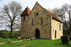 The original St. Peters church ( c1200 )~ Aubourn ~ Lincolnshire