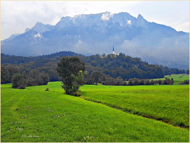 Kirche St. Nikolaus , Ebbs, Tirol, Austria