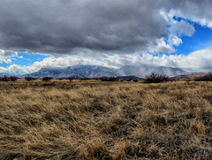 A Little Weather On The Huachuca Mountains