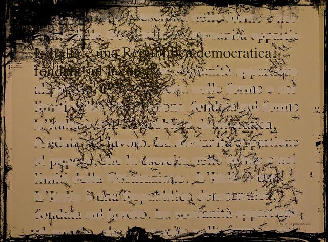 Democrazia Repubblica è mangiato da formiche ? ? ...  (PiP)