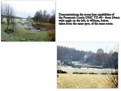Panasonic DMC TZ-60 Zoom lens capability